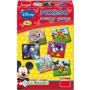 Jucarie educativa Dino Toys Mickey Mouse Club House - Memo Game