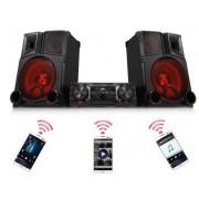 MINI SYSTEM LG RedParty 2600W RMS DJ, USB REC, Bluetooh, Rádio AM/FM