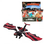 Dragones - Mini Battle Dragon - Figuras de batalla - Selección del dragón, Dragons:Toothless Red