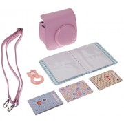 Gvirtue Fujifilm Instax Mini 8 Instant Camera Accessories Bundles, Pink