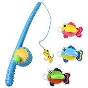 YIXIN Bath Fishing Toy with Floating Fish Enjoy Bathing Fun Time Great Gift for Boys Girls for 3 Years Old Early Education