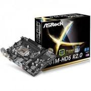 ASROCK Main Board Desktop iH81 HDS R2.0 (S1150, DDR3,USB3.0,SATA III,GLAN,DVI,HDMI,USB3.0,SATA II) mATX Retail