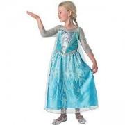 Детски карнавален костюм Елза Frozen, 3 налични размера, Rubies, 610374
