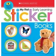 My First Early Learning Sticker Books Box Set (Scholastic Early Learners) by Scholastic