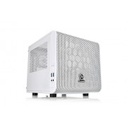 Thermaltake Core V1 Case PC Mini, Bianco