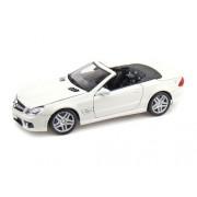 Maisto 2009 Mercedes-Benz Sl 63 Amg Convertible 1/18 White