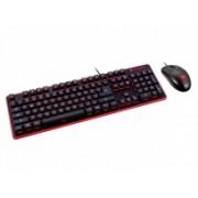 Kit Gamer de Teclado y Mouse Cougar DEATHFIRE, Alámbrico, USB, Negro