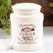 Anlux Pojemnik ceramiczny na cukier SWEET HOME 0,4 l - rabat 10 zł na pierwsze zakupy!