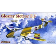 Cyber Hobby 1:72 Golden Wings Series Gloster Meteor F.1 Plastic Model Kit #5084