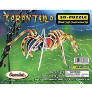 Puzzled Colorful Wood Craft Construction Tarantula 3D Jigsaw Puzzle