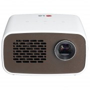 LG PH300 Battery Embedded LED Projector - 300 Ansi Lumens, HD Resolution 1280 X 720, Built-In Digital TV Tuner, LED Light Source, USB Plug & Play, Embedded Battery (up To 2.5 Hours), HDMI, MHL - PH30