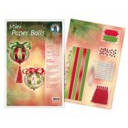 Mini Paper Balls (Motiv: Classic Ornaments)