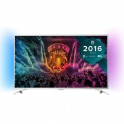 "LED TV PHILIPS 49"" 49PUS6501/12 ULTRA HD SILVER"