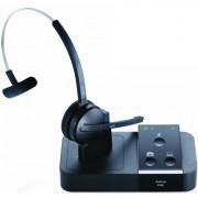 Jabra PRO 9450 EMEA DECT Monauraal oorhaak Zwart hoofdtelefoon