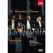 Barenboim,Yo-Yo Ma , Perlman - Beethoven Triple concerto and Choral Fantasy (DVD)