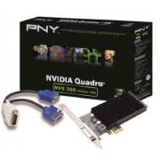 PNY QUADRO NVS 300 512MB GDDR3 PCIE x1, DMS59 to Dual VGA, VCNVS300X1VGA-PB (PCIE x1, DMS59 to Dual VGA)
