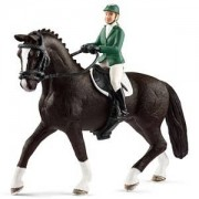 Schleich Unisex Figurines and playsets White Showjumper with horse