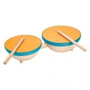 PlanToys 6425 Double Drum Music Set