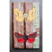 schilderij sloophout vlinder sch3-19