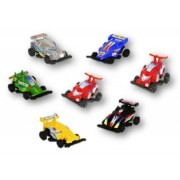 12 Racing Pull Back Race Cars Assorted Colors - 1 DZ 2.5' Pullback Play Toy Racer Vehicles Prize Assortment -...
