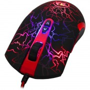 Mouse, Redragon LavaWolf, Gaming, USB (M701-BK)