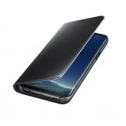 Samsung Clear View Stand Cover EF-ZG955CBEGWW - оригинален кейс с поставка, през който виждате информация от дисплея за Samsung Galaxy S8 Plus (черен)