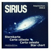Freemedia Sirius star chart, large