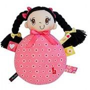 My Friend Huggles Signature Hugabaloo Baby Rattle Doll: Bia / Fair