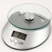 Balança Eletrônica com Relógio 1g à 5kg QE-KE-4 CBR-1055