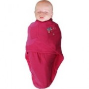 Body special bebelusi tip Wrap BO Jungle Flori Roz S 3-6 kg din bumbac