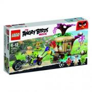 LEGO - The Angry Birds Movie - 75823 - Le Vol des Oeufs sur L'île des Oiseaux