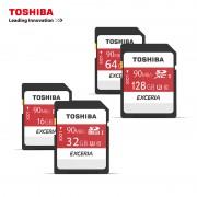Cartão De Memória Micro SD Card 64Gb Toshiba SDXC Exceria M302/R90 Retail Classe 10