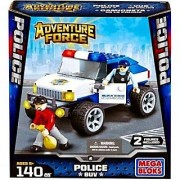 Mega Bloks Adventure Force Police SUV Set #94406
