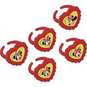 Anelli del partito sacchetto di plastica del partito enico Cafe Disney Minnie Mouse pieni (pacchetto di 4)