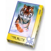 Пъзел 500 ел. Снежен тигър