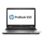 Laptop HP ProBook 650 G2 T9X73EA, negru + Windows 10 Professional, layout tastatura maghiara