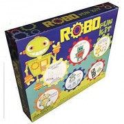 Robo Fun Kit 19-piece Activity Kit w/ Painting Puzzles Grow Toys Stickers and more
