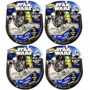 STAR WARS Mighty Beanz Pack of 4 _ Bundle of 4 Packs