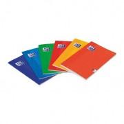 Oxford 736603 - Libreta A5, 48 hojas, horizontal, con margen, multicolor