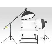 Bezcieniowy zestaw oświetleniowy Packshot Pro™ CS1223