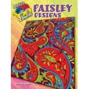 3-D Coloring Book--Paisley Designs by Books Coloring