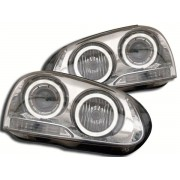 Faruri Angel Eyes VW Golf 5 1K 03- crom