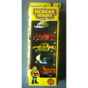 MATCHBOX 2002 5-Pack - Rescue Heroes