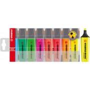 Marcadores Fluorescentes Stabilo Boss 8 Colores