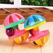 Brinquedo Para Gato Brinquedo Para Cachorro Brinquedos para Animais Interativo Brinquedos que Guincham Boca de Sino Haltere Multi-Côr