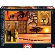 Educa - 16293 - Puzzle Classique - Couleurs d'Afrique