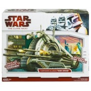 Star Wars Clone Wars Star Fighter Vehicle - Corporate Alliance Tank Droid