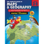 The Complete Book of Maps & Geography [With Poster]
