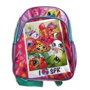 Shopkins Backpack, Lunch Box, & Drinking Bottle Bundle (3 pcs)