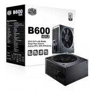 Cooler Master RS600-ACABB1-EU Alimentatore 600W ATX B2 Series, 1 Ventola 120mm, 20+4-Pin, 230V, Nero